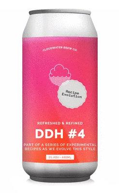 DDH Pale Recipe Evolution #4 | 5% | Pale Ale | 440ml