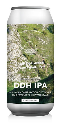 Don't Go Where I Can't Find You   6.0%   DDH IPA   440ml