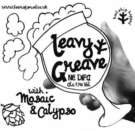 Leavy Greave | 7.7% | NE DIPA