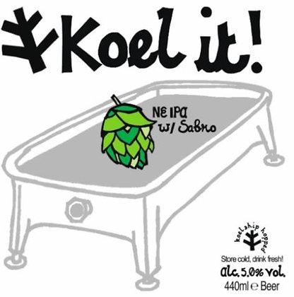 Koel It | 5.0% | NE IPA