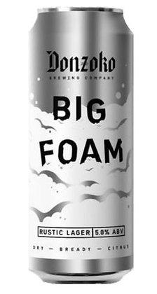 Big Foam | 5.0% | Lager