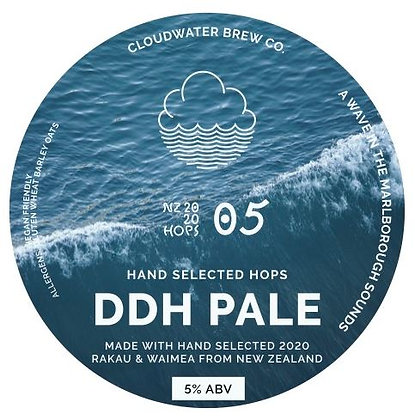 Growler Fill | A Wave... | 5.0% | DDH Pale | ½ PINT