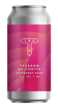 Freedom Of Choice Raspberry Sour   7.2%   Fruit Sour