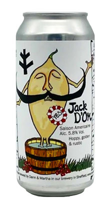 Jack D'Or | 6.4% | Farmhouse Ale | 440ml