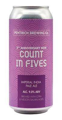 Count In Fives | 9% | IIPA | 440ml