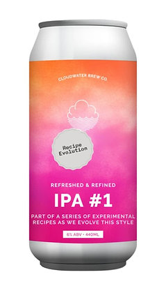 IPA Recipe Evolution #1   6%   IPA  440ml