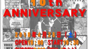 VOICE2MEN 10th ANNIVERSARY LIVE