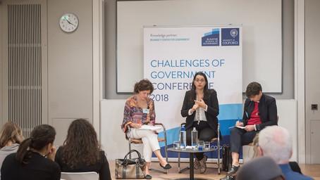 EOF CEO Amel Karboul speaks at the Blavatnik School's Challenges of Government Conference