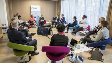 EOF CEO Amel Karboul takes part in Global Tech Panel