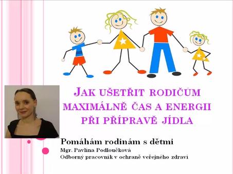 Video - Jak ušetřit nejen rodičům maximálně čas a energii při přípravě jídla. Jídelníček bez vážení.