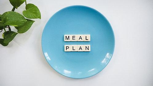 Tvorba stravovacího plánu přes e-mail