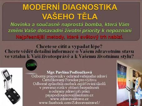Video - Komplexní diagnostika těla
