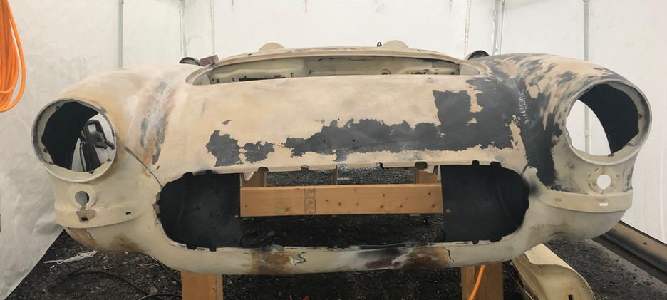 Front (post sand blast)