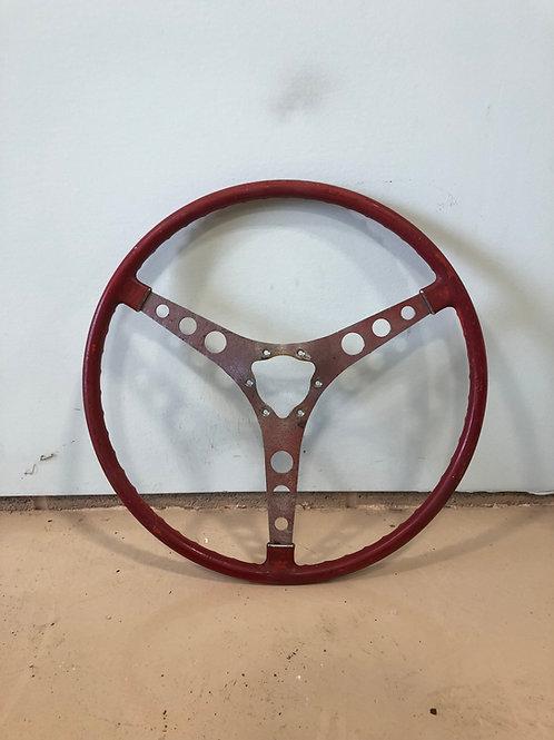 1956-C1-Corvette, Red Steering Wheel