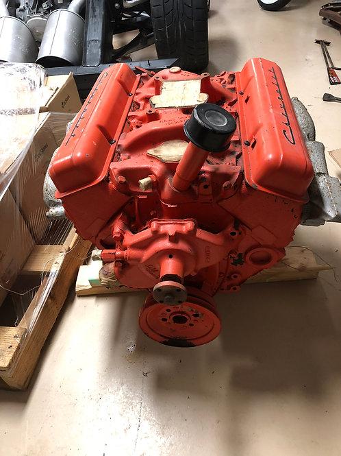 1956-C1-Corvette, Original 265 Engine