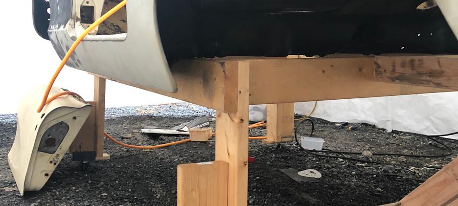 Side Wheel Well/ Undercarage Paint (post sand blast)