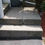 Photo 43 - unit 163 - step damage.jpg