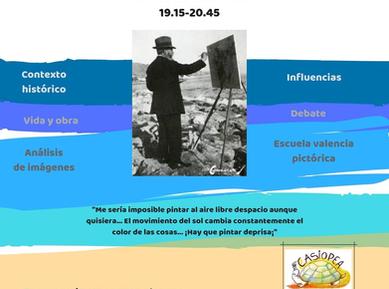 Seminarios Historia del arte (6).pngJoaquin sorolla y la escula de Valencia