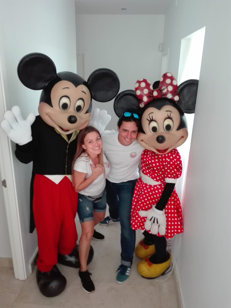 Mickey & Minnie para fiestas y eventos