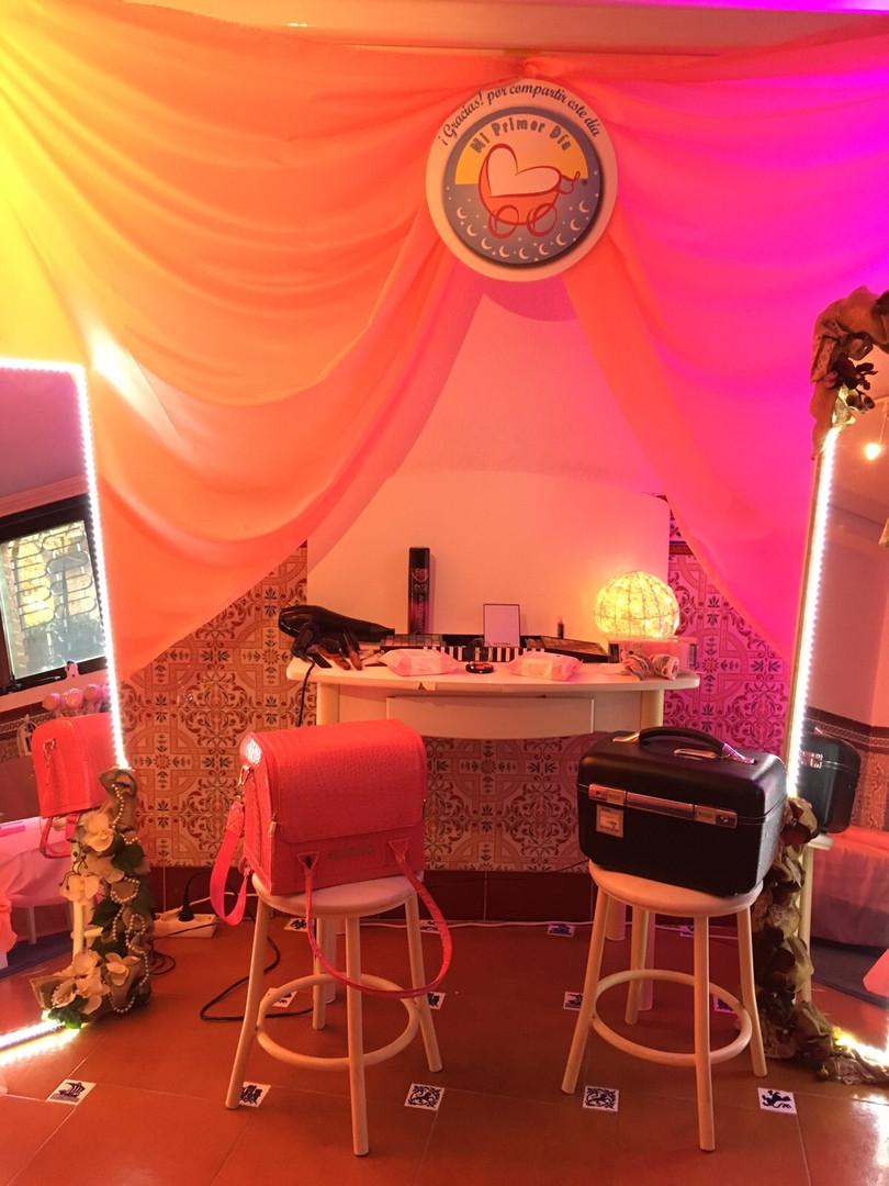 Salón de Belleza para eventos