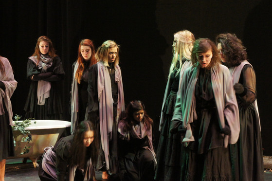 Costume Design  |  Quiet Witches  |  The University of Iowa