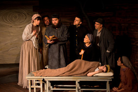 Scenic + Costume Design  |  The Crucible  |  Sypress Knee Theatre Company