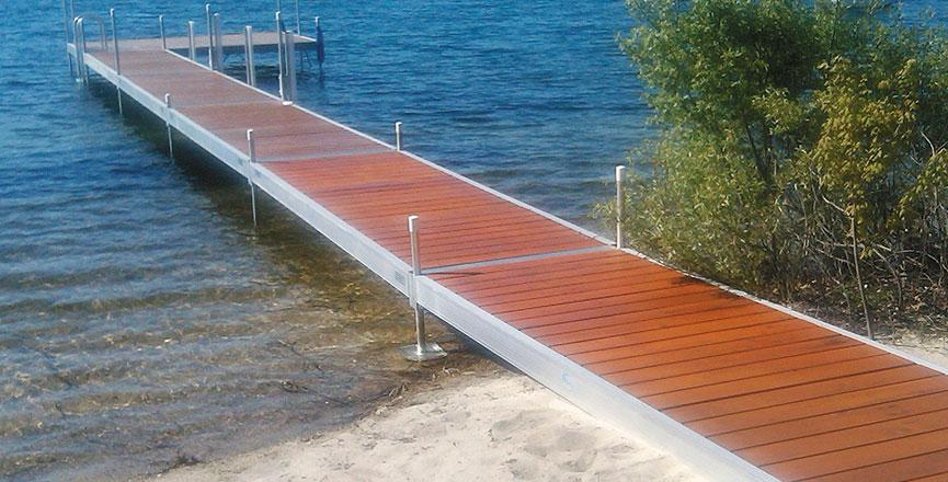 Hewitt dock