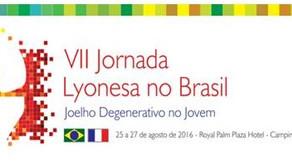 Dr. Rodrigo participa como palestrante da VII Jornada Lyonesa de Cirurgia do Joelho