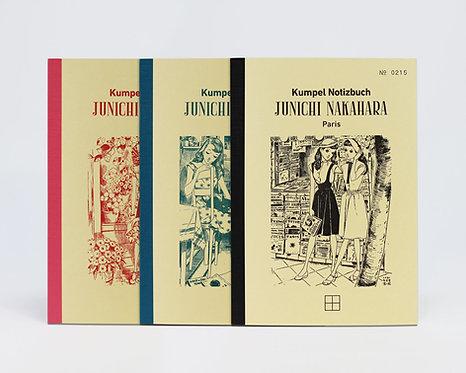 Notizbuch - JUNICHI NAKAHARA -