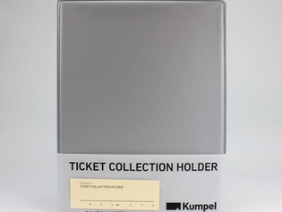Ticket Collection Holderに新色登場しました
