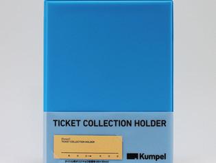 【新商品】チケットコレクションホルダー 新色・ブルー