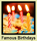 BEIGE PAGE - Birthdays of Famous People Born Today at thefamouspeople.com