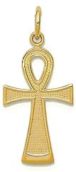 Gold Ankh Cross Pendant.bmp