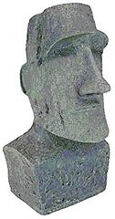 Easter Island - Monolith Garden Statue -