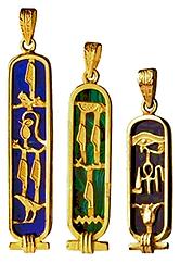 Gold Cartouche Necklace.bmp