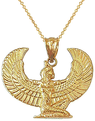 Gold Isis Pendant.bmp