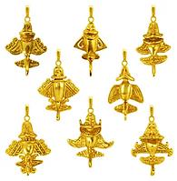 Quimbaya Airplanes - Gold Pendants.png