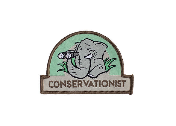 Kids Conservationist Patch