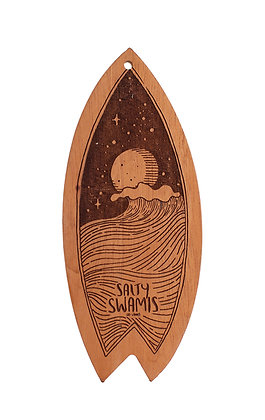 Salty Swamis Laser Cut Surfboard
