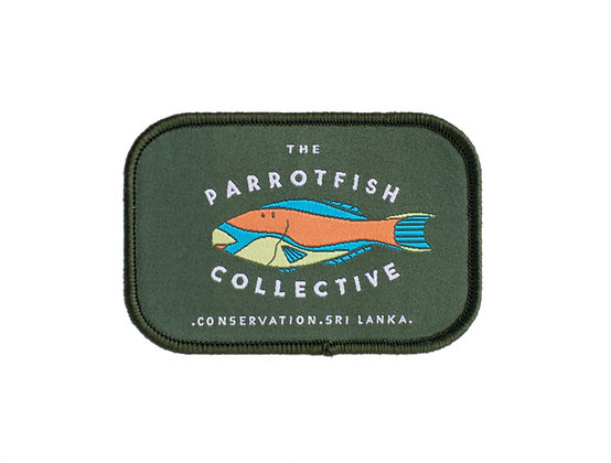 The Parrotfish Collective Patch - Logo