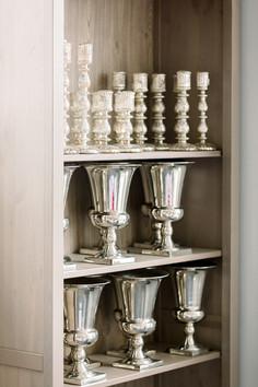 Candlesticks & Trophy Vases