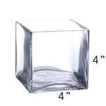 Square Vase - 4x4