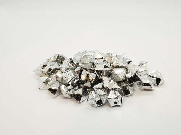 Vase Fillers - Mini Silver Acryllic Ice