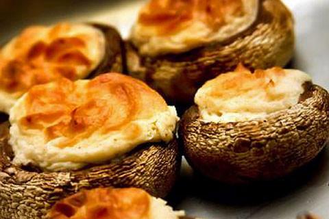 Cream Cheese Stuffed Mushrooms