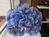 Blue Hydrangea Flower Ball