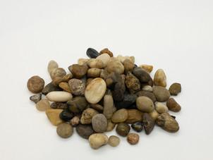 Vase Fillers - River Rocks, Small, Natural