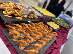 Canapes on Buffet