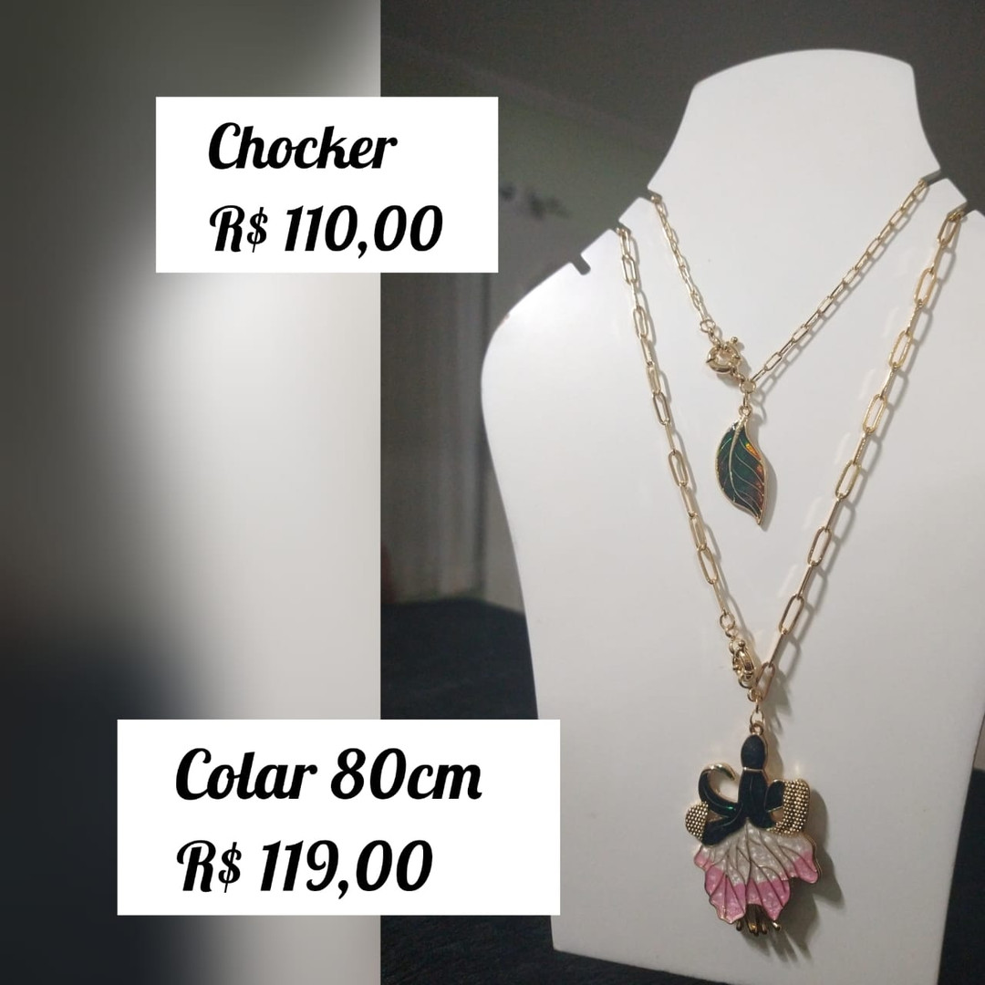 R$ 110 (chocker) / R$ 119 (colar)