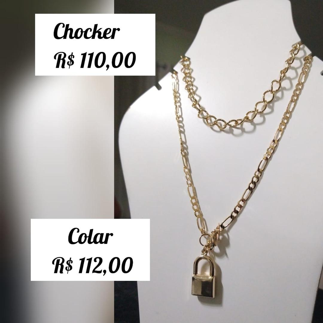 R$ 110 (chocker) / R$ 112 (colar)