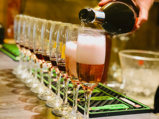 Coupe de champagne Fréjus